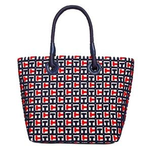 {Tommy Hilfiger}TH Terry Signature  Tote Bag $FIRM